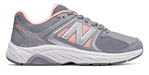 (ニューバランス) New Balance 靴?シューズ レディースウォーキング New Balance 847v3 Grey with Luxe Pink グレー ピンク US 6.5 (23.5cm)