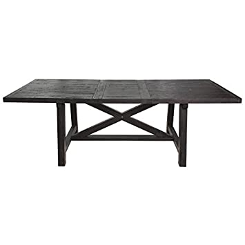 Modus Furniture 7YC961 Yosemite Rectangular Extension Table, Cafe