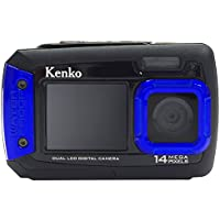 Kenko Waterproof Dual Monitor Digital Camera DSC1480DW IPX8 Equivalent Waterproof 1.5m Drop impact