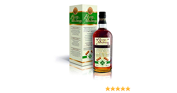Malecon 25 Years Old Reserva Imperial Rum - 700 ml: Amazon.es ...