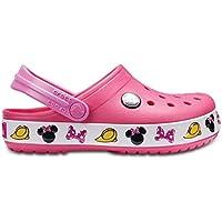 Crocs Infantil Clog Crocband Disney Minnie, Rosa, Tamanho 24/25 BRA