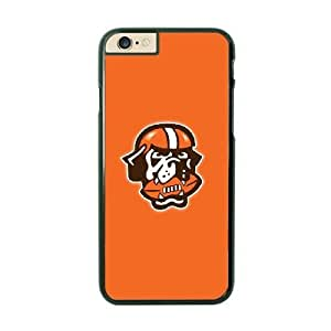 NFL iPhone 6 Black Cell Phone Case Cleveland Browns QNXTWKHE2281 NFL Phone Case Cover Custom Plastic