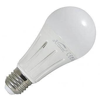 Bombilla led casquillo E27, 15, w eq. (90 w), diseño de lámpara, luz blanca cálida de 3000 K: Amazon.es: Iluminación