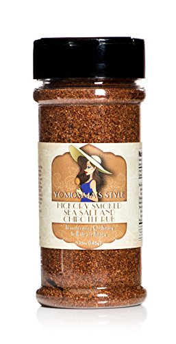 Yo Momma's Style Hickory Smoked Sea Salt and Chipotle Rub 5.15oz - Chipotle Grilling Sauce