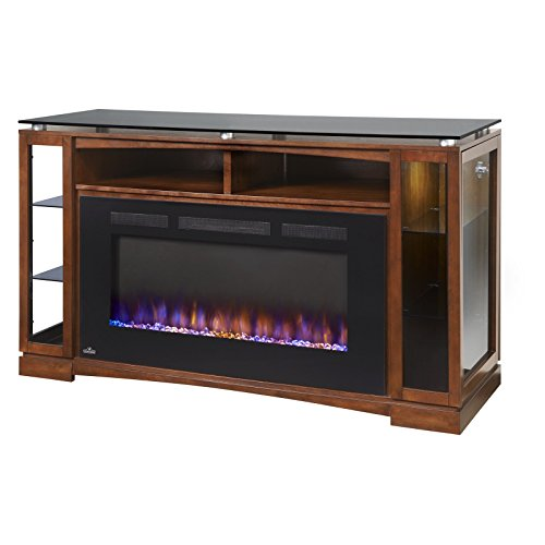 Napoleon Shelton Entertainment Center with Fireplace TV Stand