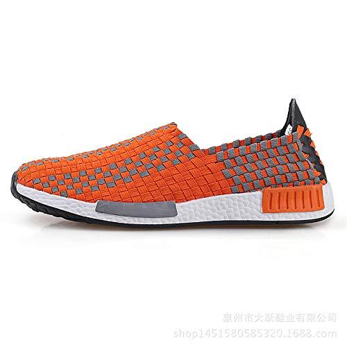 Vert EU Taille 39 Chaussures Orange coloré ZHRUI RFfExwAn