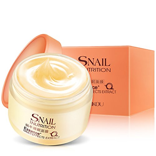 Essence Cream Night (EFINNY Sleeping Mask Essence Moisturizing Night Cream Anti Aging Wrinkle Whitening)