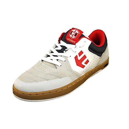 Etnies Men's Marana Skate Shoe,White/Navy/Red,10.5 M US