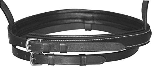Kerbl 32172 Trensen-Zaum Standard Leder für Warmblut, schwarz