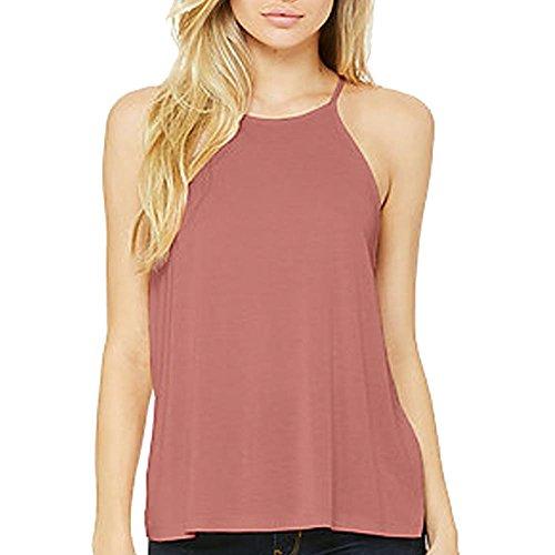 Bella T-shirt Tank Top (Bella + Canvas. Mauve. L. 8809. 00884913630666)
