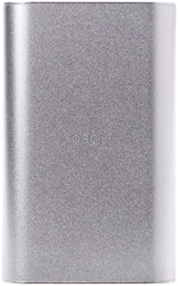 Kul-Kul - 1PC Aluminum Enclosure Project Box Ellipsoid Case 110x70x24mm for PCB DIY Electronics Enclosure M13