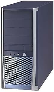 Enlight ATX Tower 4105 - Caja de ordenador (Midi-Tower, PC, ATX, Gris, Plata, 92mm, 12 x 9.6)