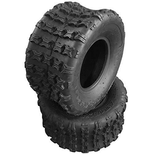 Set of 2 Sport ATV 18X9.5-8 4-PLY Tires 4PR P316