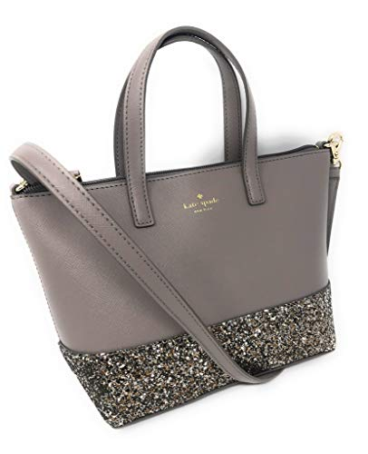 Kate Spade New York Ina Greta Court Glitter Crossbody Bag Top Handle Handbag (City Scape) from Kate Spade New York