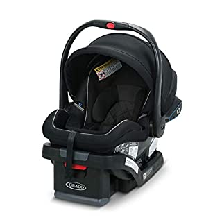CLICK! That's the sound of a secure install. The Graco SnugRide SnugLock 35 LX featuring TrueShield Technology has a hassle-free installation using either vehicle seat belt or LATCH. In three easy steps you can feel confident you've got a secure inst...