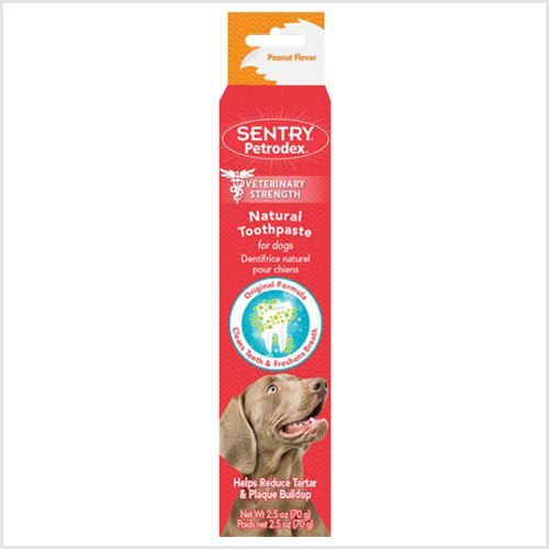 Natural Toothpaste - 2-1/2 oz.for dogs (Pack of 6)