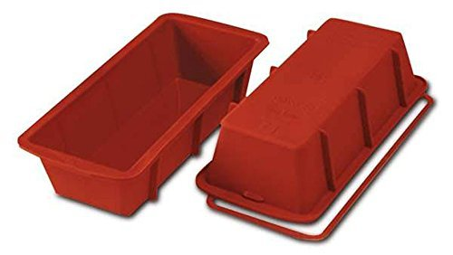 Silikomart SFT326/C Silicone Classic Collection Loaf Pan, 9.5 by 4-Inch ()