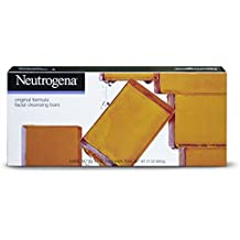 Neutrogena Transparent Facial Bar Bonus Pack, Original Formula - 6 ea, 3.5 oz each, total 21 oz