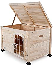"""Petsfit Indoor Pet House with Wire Door 31"""" x 20"""" x 20"""""""