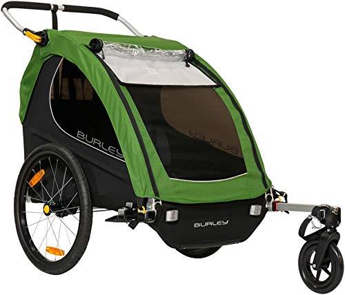 Burley Encore, 2 Seat Kids Bike Trailer & Stroller (Best Bike Trailers 2019)
