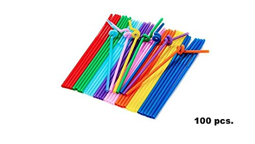 hot-sale-colorful-flexible-disposable-extra-long-drinking-straw-plastic-100-pcs