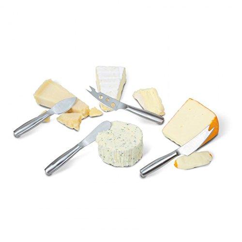 Boska Holland 357610 Copenhagen Mini Knife Set Cheese Knives, Stainless by Boska Holland