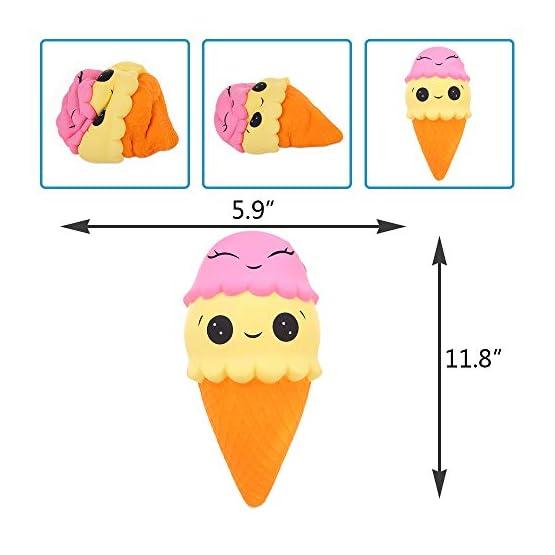 Ice Cream Cone | Slow Rising Jumbo Squishy 2