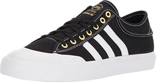 adidas Skateboarding Unisex Matchcourt Core Black/Footwear White/Gold Metallic 11.5 Women / 10.5 Men M US