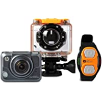 HP Action Cam ac200w Full HD 1080p Waterproof Camera with Wrist Remote (ac200w)