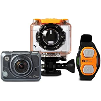 hp action cam ac200w full hd 1080p waterproof. Black Bedroom Furniture Sets. Home Design Ideas