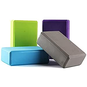 Auveach Yoga Block Pilates Brick High Density Foam Exercise Studio Fitness Quality