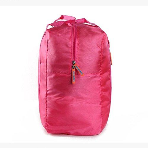 Imperméable Bagage Déménagement de Portable Voyage Bag Stockage de Usage Organisateur Pour Rangement Valise Pliable Multi Sacoche Sac Rose Emballé Déplacement gY1vqOw