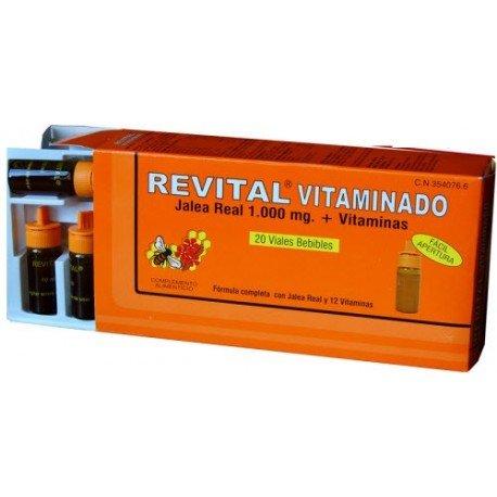 REVITAL - REVITAL VITAMINADO 20 VIALES: Amazon.es: Salud y cuidado personal