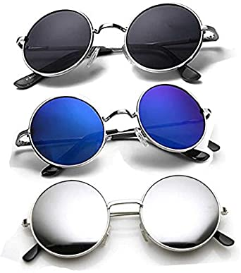 c655fb4c0e Ivonne new Collection Men s Sunglasses Multi Color pack Of 3  Amazon.in   Clothing   Accessories