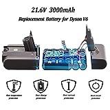 KINGTIANLE 21.6V 3.0Ah Replacement Battery For
