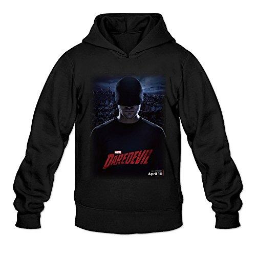 Men's Charlie Cox Daredevil Poster Sweatshirts Black