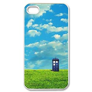 Fggcc Doctor Who Tardis Hard Case for Iphone 4,4S,Doctor Who Tardis Iphone 4,4S Cover Case (pattern 1)