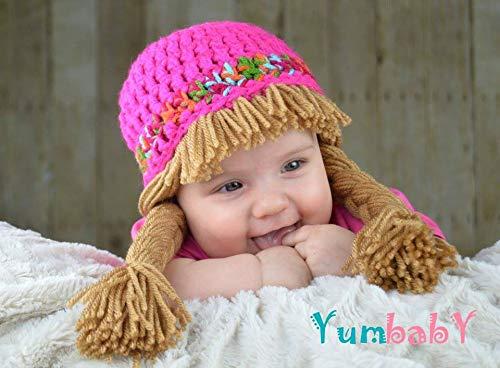 Amazon Cabbage Patch Costume Crochet Hat Handmade