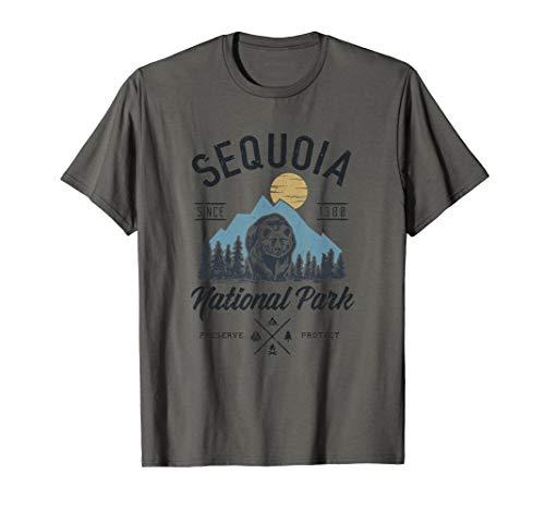 Sequoia National Park novelty hiking camping T Shirt T-Shirt