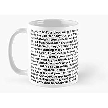 The Office 11 Oz 15 Oz Mug Michael Scott/'s Boom Roasted Speech Mug Quote Mug