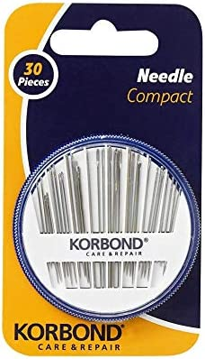 Ruix 90 Pieces Hand Sewing Needles Set 3 Pack 30 Count Assorted Sew Needle Case