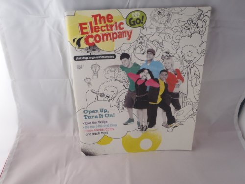 2009 Issue #1 PBS Kids Go! The Electric Co Magazine