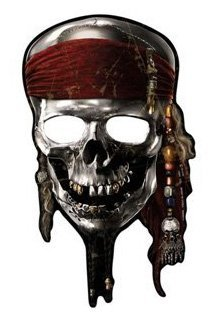 Pirates of the Caribbean 'On Stranger Tides' Paper Masks / Favors (8ct)