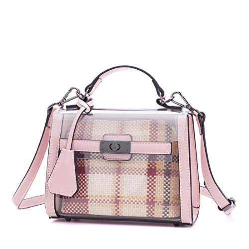 Mujer Summer Pink Para De Messenger Shoulder Blue Hombro color Ploekgda Jelly Bolsos 6dFwq8U8