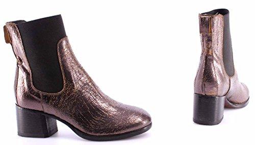 MOMA Damen Schuhe Stiefeletten Ankle Boots 94505-7B Old Boy New Car Vintage ITA