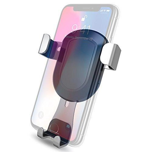 Samsung Galaxy S8 Sony Android Huawei MOREZONE Fixation Support T/él/éphone Portable Voiture Ventilation /à Grille da/ération 360 Degr/és pour iPhone 7// 6s// 5 Support Telephone Voiture