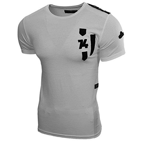 Rusty Neal Herren T-Shirts T-Shirt weiß weiß M