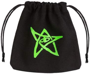 Q Workshop Call of Cthulhu Black & Green Dice Bag