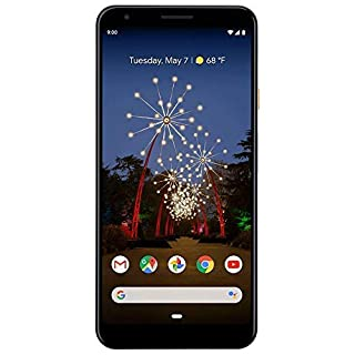 Google Pixel 3a XL 64GB SPRINT - Black (Sprint ONLY) (Renewed)