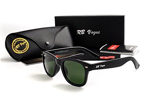 RB Vogue 2140 Black Frame Green Lens Women - Vogue Sunglasses Cheap